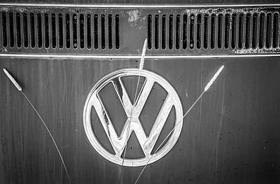 Photograph - Vw Van Logo by Marilyn Hunt