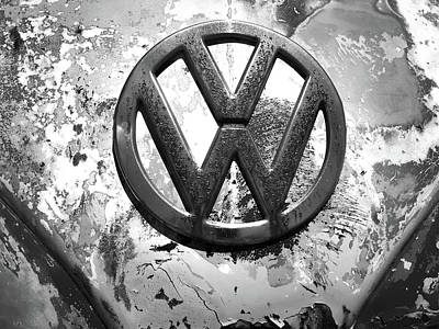 Photograph - Vw Volkswagen  by Kelly Hazel