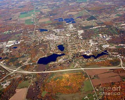 Photograph - W-039 Waupaca Wisconsin by Bill Lang