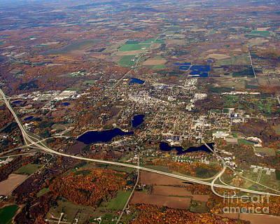 Photograph - W-040 Waupaca Wisconsin 2 by Bill Lang