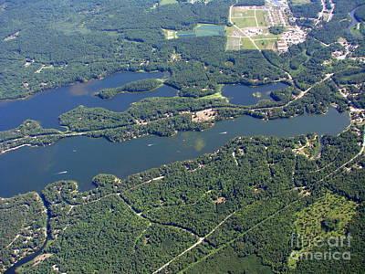 Photograph - W-041 Watosak Lamotte Lakes East End Shawano County by Bill Lang