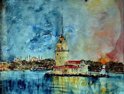 W 57 Istanbul Art Print by Dogan Soysal