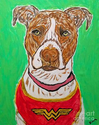 Painting - W Boy by Ania M Milo