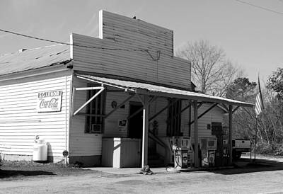 Photograph - S. G. Lenior Store 3 Bw by Joseph C Hinson Photography