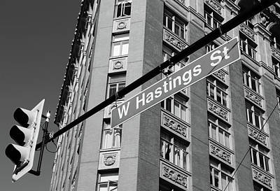 Photograph - W Hastings Street  by The Artist Project