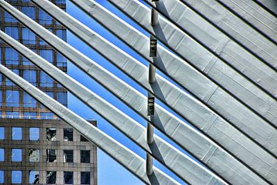 Photograph - W T C Transportation Hub Oculus Exterior  # 9 by Allen Beatty