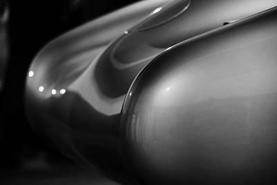 Vintage Porn Photograph - W196 Mercedes Tail by Robert Phelan