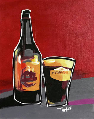 Growler Painting - Wabasha by Laura Toth