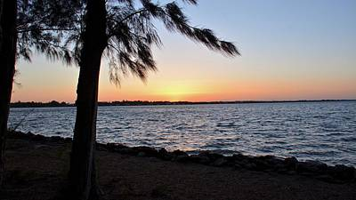 Photograph - Wabasso Sunset by Carol Bradley