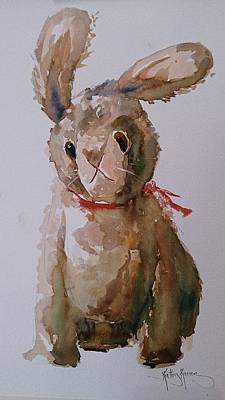 Painting - Wabbit by Kathy  Karas