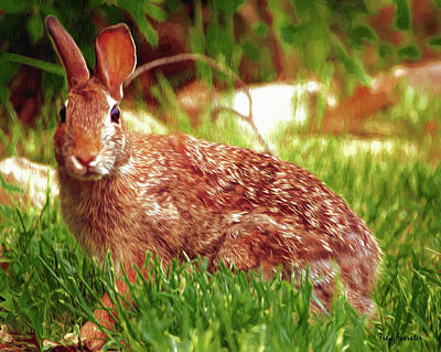 Digital Art - Wabbit by Trey Foerster