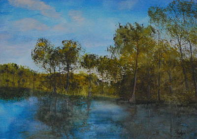 Painting - Waccamaw Breeze I by Phil Burton