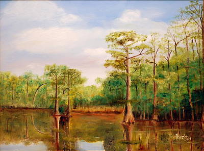 Painting - Waccamaw Breeze IIi by Phil Burton