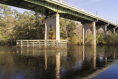 Photograph - Waccamaw Memorial Bridge November 2015 by MM Anderson