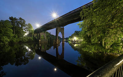 Photograph - Waccamaw River Memorial Bridge by Van Sutherland