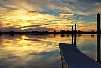 Waccamaw River Sunset Art Print