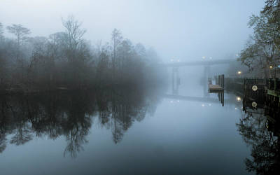 Photograph - Waccamaw River Winter #1 by Van Sutherland