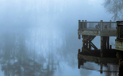 Photograph - Waccamaw River Winter #2 by Van Sutherland
