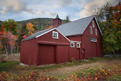 Photograph - Wachusett Barn by Robin-Lee Vieira