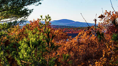 Wachusett In Fall Art Print