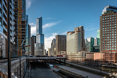 Photograph - Wacker Drive by Randy Scherkenbach