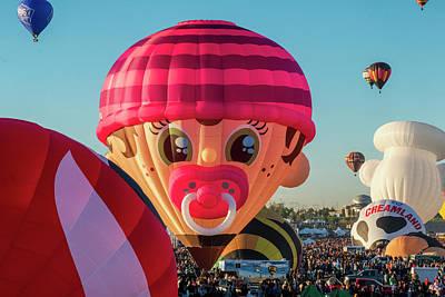 Photograph - Wacky Binky Balloon by Tom Singleton