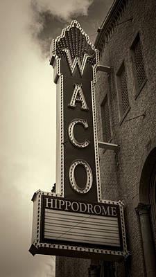 Waco Hippodrome - #3 Art Print