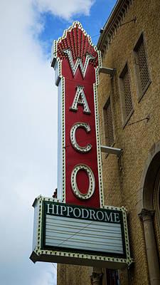 Waco Hippodrome Art Print