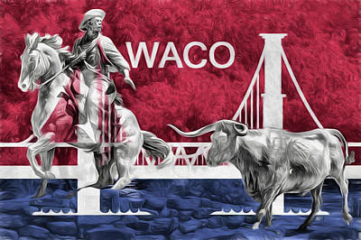 Photograph - Waco Texas by JC Findley