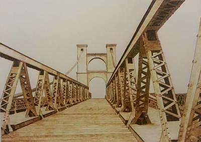 Waco's Suspension Bridge Original by Marsha Wilson