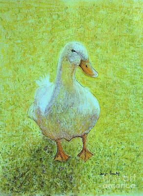 Painting - Waddle by Tamyra Crossley