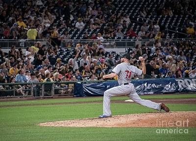 Pennsylvania Baseball Parks Photograph - Wade Davis by David Bearden