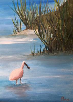 Painting - Wading by Betty Pimm