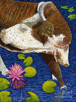 Painting - Wading Repose by David Joyner