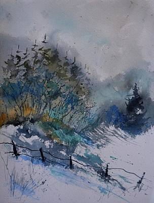Target Project 62 Abstract - Waetrcolor 711081 by Pol Ledent