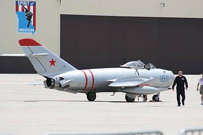 Photograph - Wafb 09 Mig 17 Russian 6 by David Dunham
