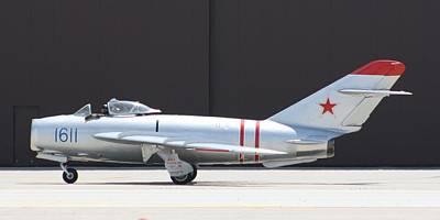 Photograph - Wafb 09 Mig 17 Russian  by David Dunham