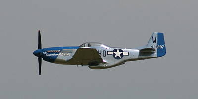 Photograph - Wafb 09 P51 Mustang 1 - Darling Of The Sky by David Dunham