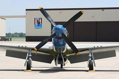 Photograph - Wafb 09 P51 Mustang 2 - Darling Of The Sky by David Dunham
