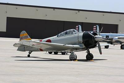 Photograph - Wafb 09 T-6 Tora 101 Zero 8 by David Dunham