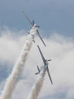 Photograph - Wafb 09 Yak 52 Aerostar 3 by David Dunham
