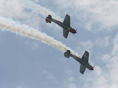 Photograph - Wafb 09 Yak 52 Aerostar 7 by David Dunham
