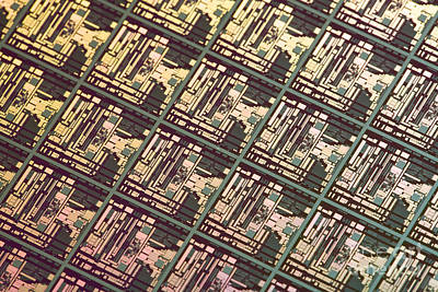 Processor Photograph - Wafer At Intel Labs by Massimo Brega The Lighthouse