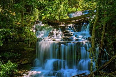 Photograph - Wagner Falls by Chuck De La Rosa