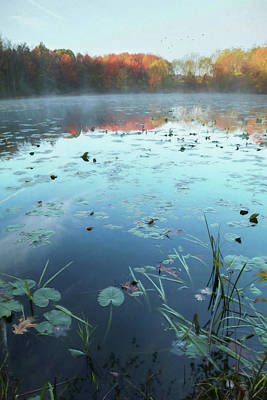 Photograph - Wagners Pond by Lori Deiter