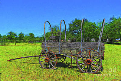 Photograph - Wagon 10718 by Ray Shrewsberry