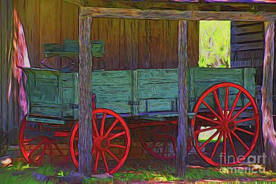 Photograph - Wagon 11118 by Ray Shrewsberry