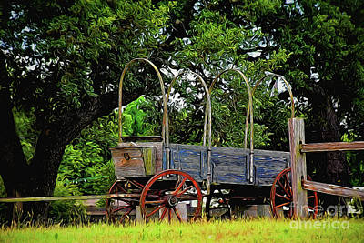 Photograph - Wagon 13318 by Ray Shrewsberry