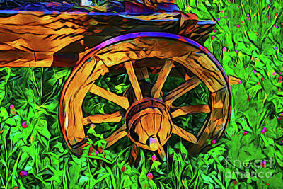 Photograph - Wagon 20718 by Ray Shrewsberry