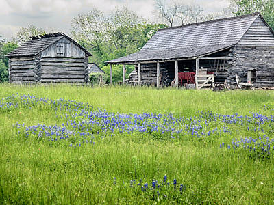 Photograph - Wagon Barn by Charles McKelroy